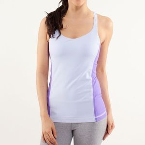 LULULEMON Free To Be Tank 0 Cool Breeze Purple
